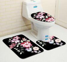 Floor Mat Bathroom Carpet Non-Slip Absorbent Toilet Floor Rugs Eco-Friendly Pads