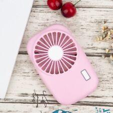 Portable Slim Type Fan Handheld Handy Mini Rechargable USB