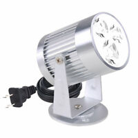 3W White LED Aluminum Pinspot Stage Effect Light Spotlight DJ Disco Club Party