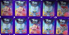 Topps Trolls World Tour Sticker  20 Tüten / 100 Sticker und Stickerkarten SALE