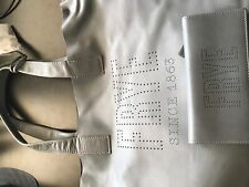 Frye Perforate Tote and matching wallet