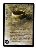 LORD OF THE RINGS LoTR 11R1 THE ONE RING, THE RING OF RINGS  TRADING CARD