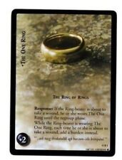 LOTR LORD OF THE RINGS CCG 11R1 THE ONE, THE RING OF RINGS RARE TRADING CARD