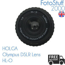 HOLGA HL-O Olympus DSLR Holga Lens F8.0 60mm Black UK STOCK