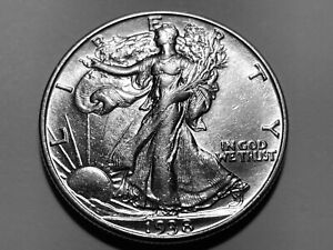 1938-D Walking Liberty Half Dollar * High Grade Mint State *
