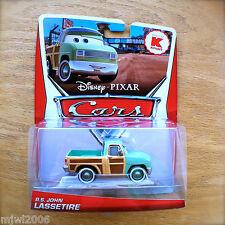 Disney PIXAR Cars R.S. JOHN LASSETIRE Kmart DELUXE diecast mail-in promo RS 2013