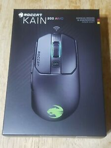 NEW ROCCAT® Kain 200 AIMO Wireless RGB Gaming Mouse - Black