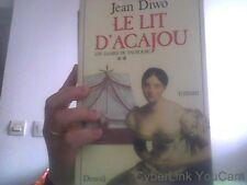 Jean Diwo pour Le lit d'acajou tome 2 les dames du faubourg