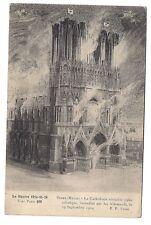 reims ,la cathédrale véritable joyau artistique.