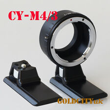 CY Contax Yashica Lens To Micro 4/3 M4/3 Adapter GF3 GH3 EPL3 E-PM2 With Tripod