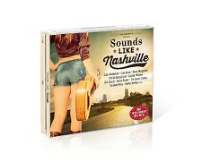 SOUNDS LIKE NASHVILLE - BOX-SET - LADY ANTEBELLUM/LUKE BRYAN/+ 3 CD NEW+