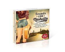 SOUNDS LIKE NASHVILLE - BOX-SET - LADY ANTEBELLUM/LUKE BRYAN/+ 3 CD NEW+