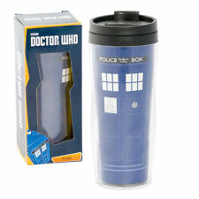 Doctor Who TARDIS travel mug, flask officially licensed DR
