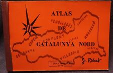 Atlas de Catalunya Nord 1977 French publication SB book French Catalonia details