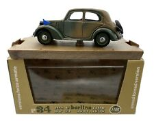 Brumm 1:43 Diecast 1937-39 Fiat 508c Military 1100 r34 Collectible Model Car