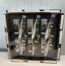 Store Display Burger King 2005 Complete Set of 6 Star Wars Watches Tins