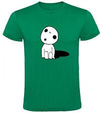 Camiseta La princesa Mononoke Kodama Hombre varias tallas y colores a040