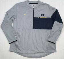 nike shield university michigan wolverines men's hybrid jacket sz xxl 35026x