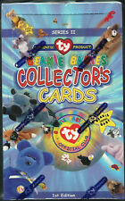 TY Beanie Babies Collectors Cards 1st Edition Series 2 Sealed Box