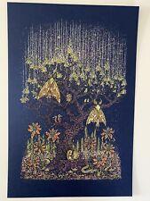Marq Spusta Luminous Life 17 Poster Print S/N Silkscreen Only 240! Metallic Blue