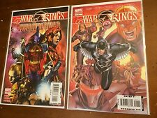 WAR OF KINGS lot of 3 #1 VARIANT,WHO WILL RULE, NOVA 26 Guardians of the Galaxy
