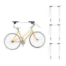 4 x Fahrradlift zur Fahrrad Aufbewahrung - Fahrradhalter Garage Fahrradaufzug