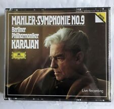 Mahler • Symphony No. 9 Herbert  Von Karajan - 2 x CD Live Recording (1984)