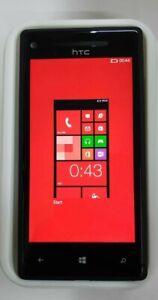 HTC Windows Phone 8X GSM Unlocked Black Smartphone