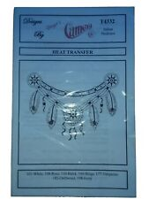 Indian Necklace Heat Transfer, Design By GIinger's Cameo pattern # T4332