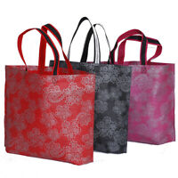 Reusable Eco Fabric Non-Woven Waterproof Grocery Bag Shopping Tote Bag Handbag