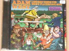 ADAM WEST -Longshot Songs For Broke Players 2001-2004- CD