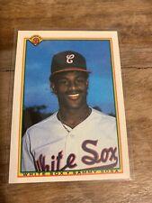 1990 Bowman Baseball Sammy Sosa Chicago White Sox RC #312