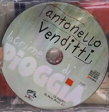 Antonello Venditti – Lacrime Di Pioggia-Cd Single Promo  2001 Mint One Track