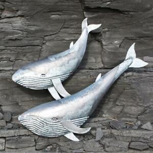 Blue Whale Wall Hanging | Coastal Decoration by Shoeless Joe