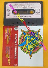 MC PUNTO E VIRGOLA compilation VASCO ROSSI RICCHI E POVERI 1983 no cd lp dvd vhs