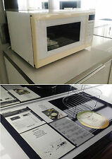 SHARP MICROWAVE MICROWELLE MIT GRILL R 4G54 900W PORTIONS