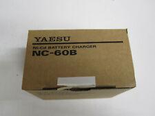 Original Yaesu NC-60B Battery Charger Ham Amateur Commercial New