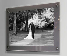 """Cheshire acrylic wall picture photo frame for 16 x 20 """"/40 x 50 cm /20 x 16 """""""