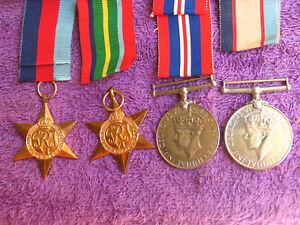 AUSTRALIA WW2 2/30th N180059 & NX122076 CPL GORDON M BUTTERS  MEDALS