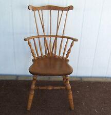 1867 S Bent & Bros Colonial Bow Back Brasmar Maple Chair Pick Up 92544 Hemet Ca