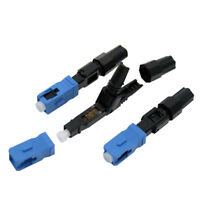 10 PC SC Optic Fiber Quick Connector UPC Fast Connector Single Mode FTTH SC