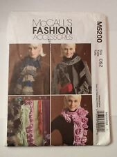McCall's 5200 Scarves Fashion Accessories