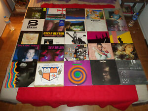 LOT 25 LP POP ROCK /BEE GEES ELTON JOHN SIMPLE MINDS LITTLE RICHARDS ERIC WATSON