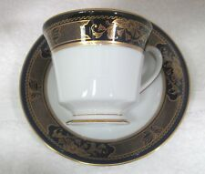 Grenoble by Noritake Number 3392 Legacy Footed Cup & Saucer Excellent Shape