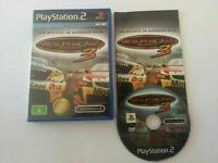 Mint Disc Playstation 2 Ps2 V8 Supercars 3 Super Cars III - Free Postage