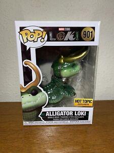Funko Marvel  Pop! Alligator Loki Vinyl Bobble-Head Hot Topic Exclusive In hand