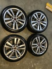Subaru Sti Wheels 5x1143 18 Inch With Continental Control Contact Tires Oem