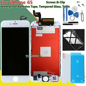 For Apple iPhone 6S White LCD Replacement Touch Screen Digitizer Display Frame