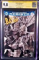 DC Comics ALL-STAR BATMAN #1 CGC SS 9.8 Sketch JOKER CATWOMAN GOTHAM HARLEY IVY