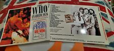 The Who Anaheim 1976 Master Tape CD import Live Concert CD-R rare Keith Moon